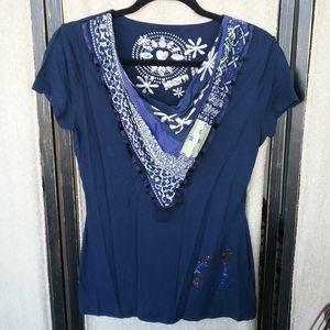 Desigual scarf T-shirt